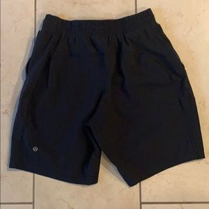 Men's Lululemon black shorts size small